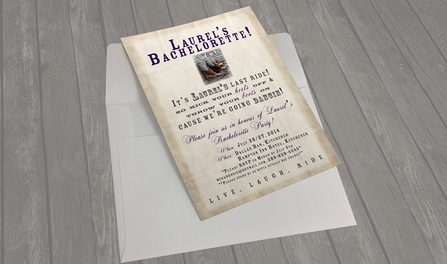 Portfolio - Invitations